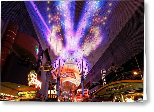 Las Vegas 062 Greeting Card by Lance Vaughn