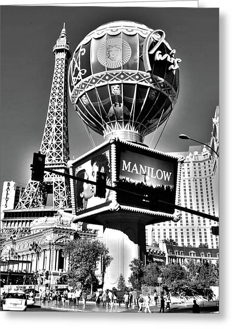 Las Vegas Art Greeting Cards - Las Vegas Greeting Card by Alicia Morales