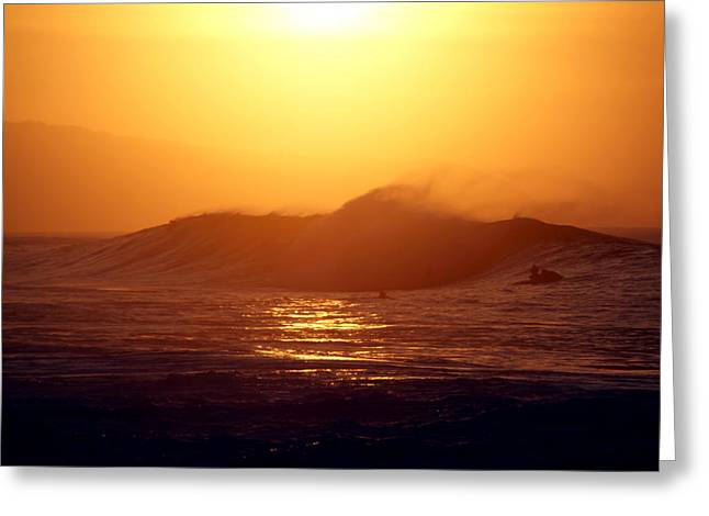 Skystudiohawaii Greeting Cards - Last Wave Greeting Card by Kevin Smith