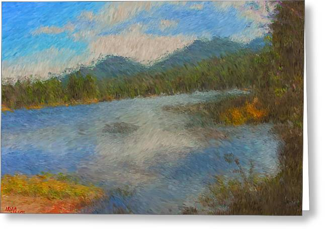 Sprague Greeting Cards - Late October Greeting Card by Adam Vance