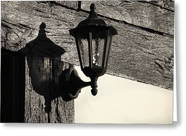 Latern Greeting Cards - Latern Greeting Card by Karin Haas
