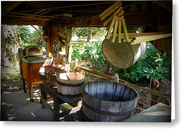 Laundry Shed I Greeting Card by Sheri McLeroy
