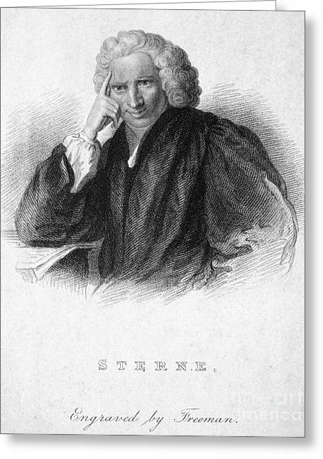 Laurence Sterne Greeting Card by Granger