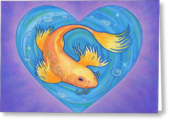 Heart Pastels Greeting Cards - Laurie Greeting Card by Lisa Kretchman
