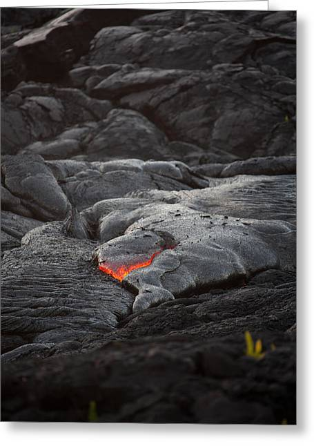 Ralf Kaiser Greeting Cards - Lava Greeting Card by Ralf Kaiser