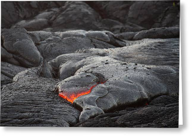 lava Greeting Card by Ralf Kaiser