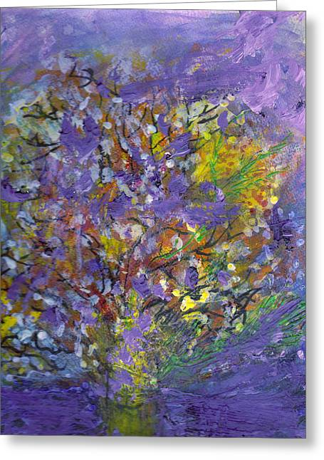 Lavender Memories Greeting Card by Anne-Elizabeth Whiteway