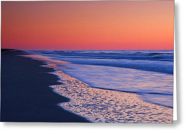 Ocean Photographs Greeting Cards - Lavender Sea I Greeting Card by Steven Ainsworth