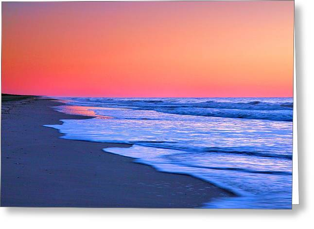 Ocean Photographs Greeting Cards - Lavender Sea II Greeting Card by Steven Ainsworth