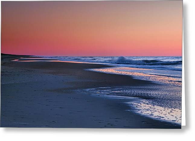Ocean Photographs Greeting Cards - Lavender Sea III Greeting Card by Steven Ainsworth