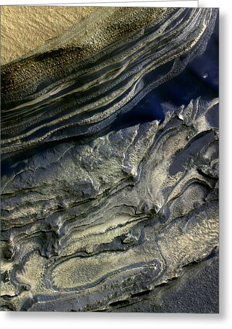 People Greeting Cards - Layers Exposed At Polar Canyon Greeting Card by Stocktrek Images
