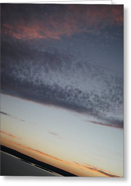 Subtle Colors Greeting Cards - Layers Greeting Card by Justin  Hill