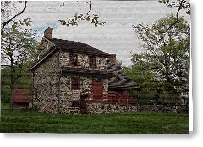 Colonial Architecture Greeting Cards - Layfayettes Headquarters at Brandywine Greeting Card by Gordon Beck