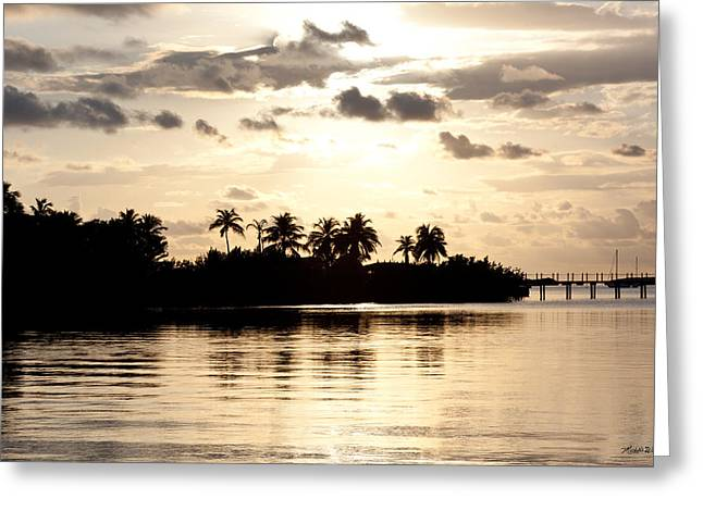 Islamorada Greeting Cards - Lazy Islamorada Afternoon Greeting Card by Michelle Wiarda