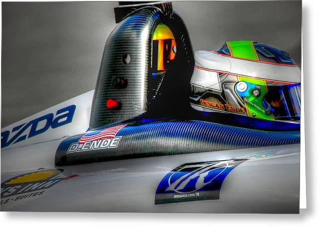 Indy Car Greeting Cards - Lbgp Greeting Card by Craig Incardone