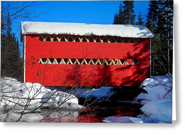 Blau Greeting Cards - Le Boise du Pont-Rouge ... Greeting Card by Juergen Weiss