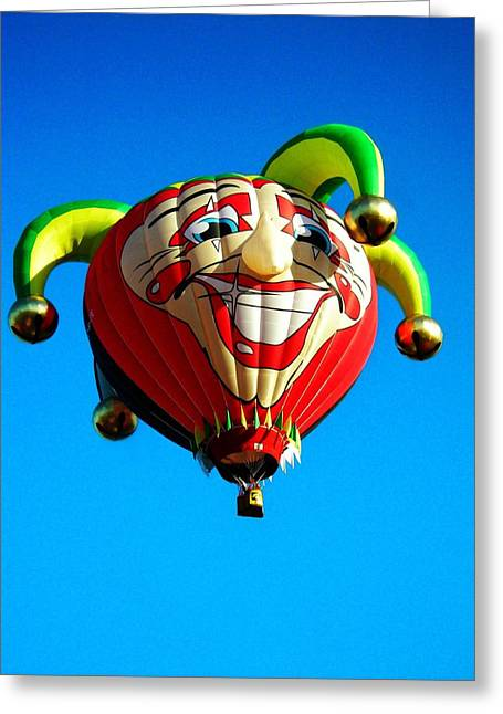 Helium Greeting Cards - Le Fou du Roi Greeting Card by Juergen Weiss
