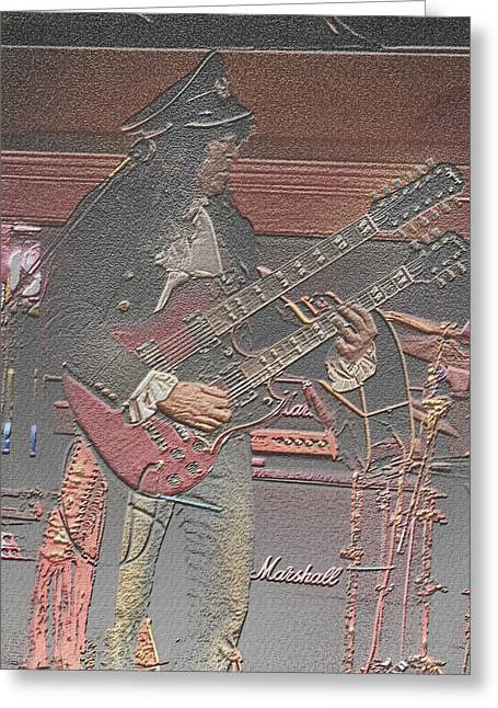 Lead Greeting Cards - Lead Guitar Greeting Card by Joseph G Holland