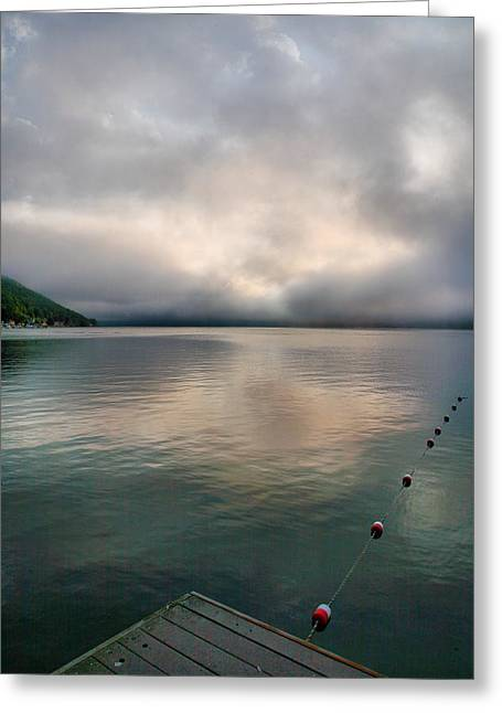Lakescape Greeting Cards - Leading Edge I Greeting Card by Steven Ainsworth