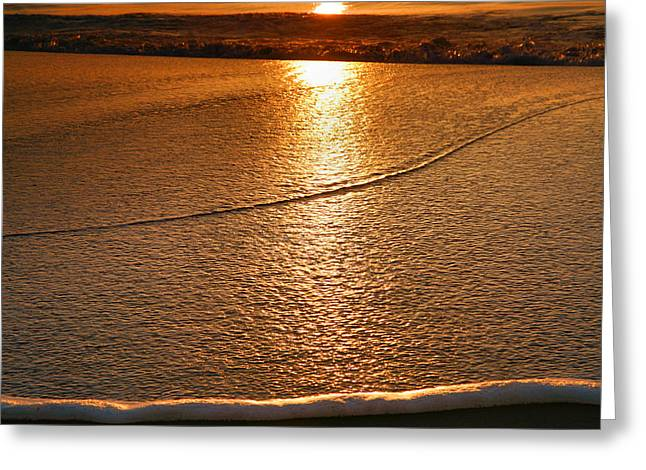 Leading Edge Greeting Card by Steven Ainsworth