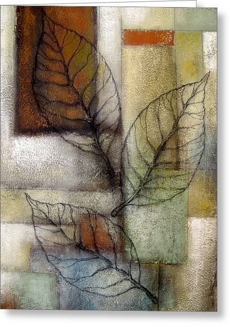 Development Greeting Cards - Leaf Whisper 2 Greeting Card by Leon Zernitsky