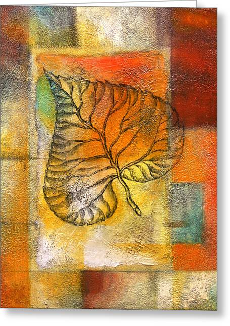 Development Greeting Cards - Leaf Whisper 4 Greeting Card by Leon Zernitsky