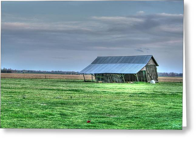 Shed Digital Greeting Cards - Lean on Me Greeting Card by Rick Ward