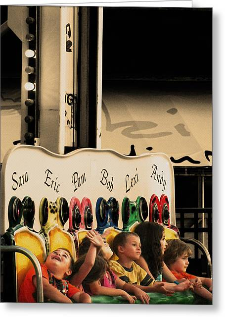 Original Art Photographs Greeting Cards - LeapFrog Greeting Card by Colleen Kammerer