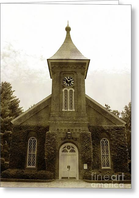 Lee Chapel Greeting Cards - Lee chapel Greeting Card by Barbara K
