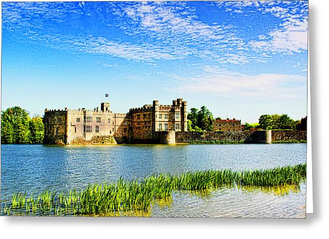 Henry Viii Greeting Cards - Leeds Castle 2 Greeting Card by Chris Thaxter