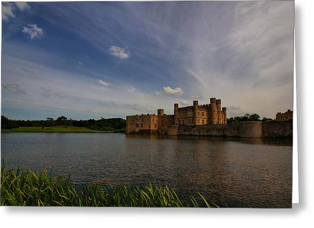 Leeds Greeting Cards - Leeds Castle 5 Greeting Card by Chris Thaxter