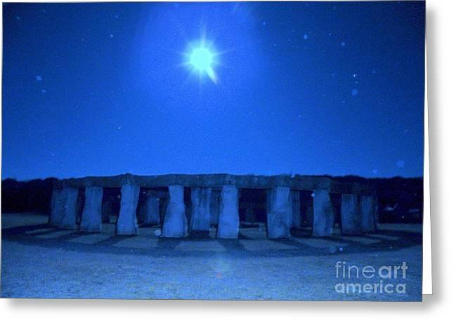 Winter Night Greeting Cards - Left Behind Series Greeting Card by Joe Jake Pratt
