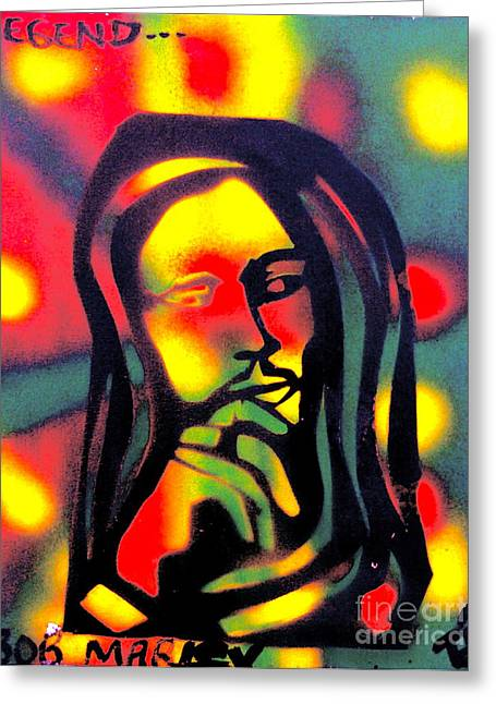 First Amendment Greeting Cards - Legend Greeting Card by Tony B Conscious