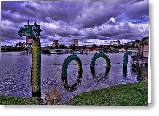 Lego Sea Dragon Greeting Card by Jason Blalock