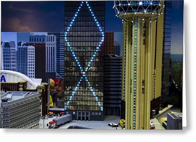 Legoland Dallas II Greeting Card by Ricky Barnard