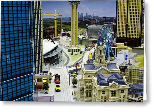 Legoland Dallas IV Greeting Card by Ricky Barnard