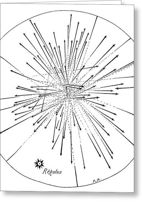 Annual Volume Greeting Cards - Leonids Meteor Shower Of 1799 Greeting Card by