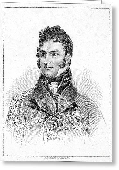 Sideburns Greeting Cards - Leopold I (1790-1865) Greeting Card by Granger