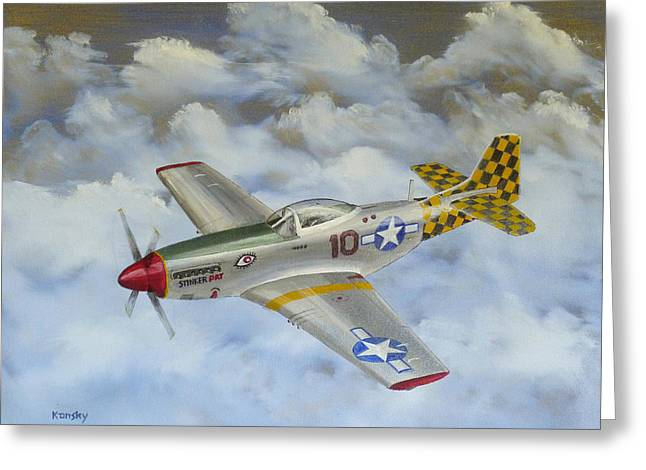 Braches Greeting Cards - Lesina Italy Checkertail Clan 1945 Greeting Card by Daniel Kansky