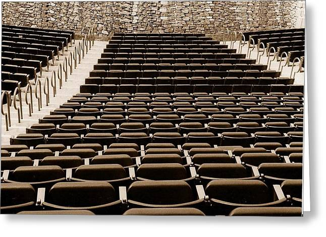 Outdoor Theater Greeting Cards - Let the Show Begin Greeting Card by Sharon Spade - Kingsbury