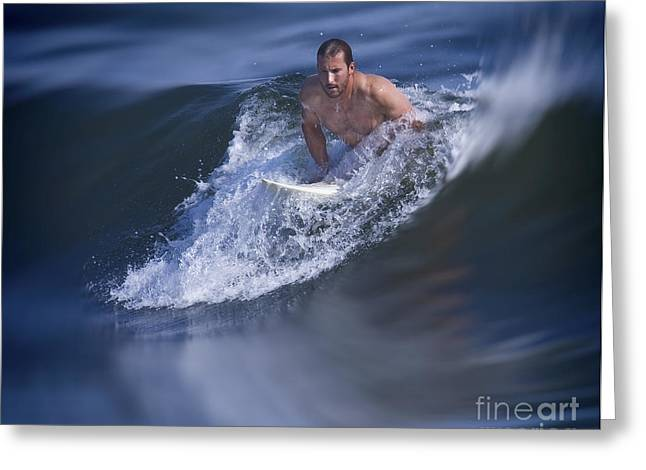 Surfing Board Greeting Cards - Lets Go Surfing Greeting Card by Susan Candelario