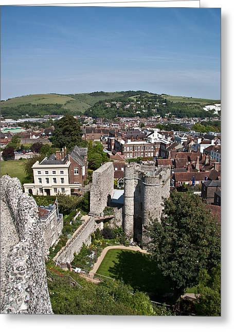 Lewes East Sussex Greeting Card by Dawn OConnor