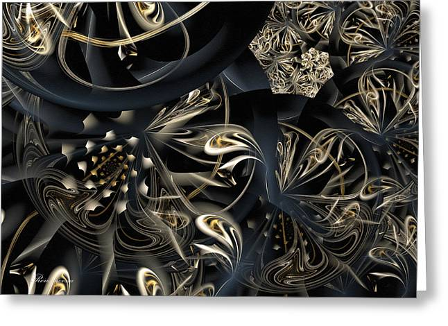 Life And Complexity Greeting Card by Georgiana Romanovna