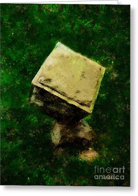 Monolith Greeting Cards - Life Carved in Stone Greeting Card by RC DeWinter
