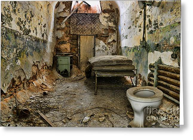 Sms Greeting Cards - Life in prison Greeting Card by Paul Ward