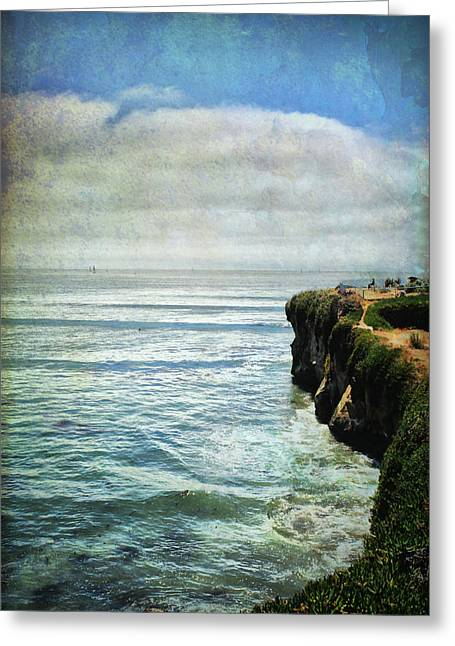 Santa Cruz Digital Greeting Cards - Life Is Bigger Greeting Card by Laurie Search