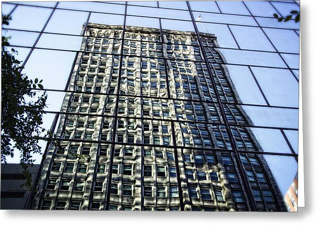 Sustainability Greeting Cards - LIfe on the 32nd Floor Greeting Card by Joan Carroll