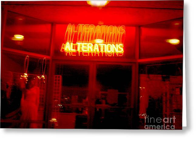Alteration Greeting Cards - Lifes little Alteration Greeting Card by Peter Piatt