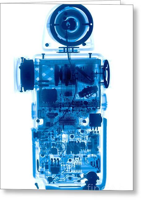 Electrical Meter Greeting Cards - Light Meter Greeting Card by Ted Kinsman