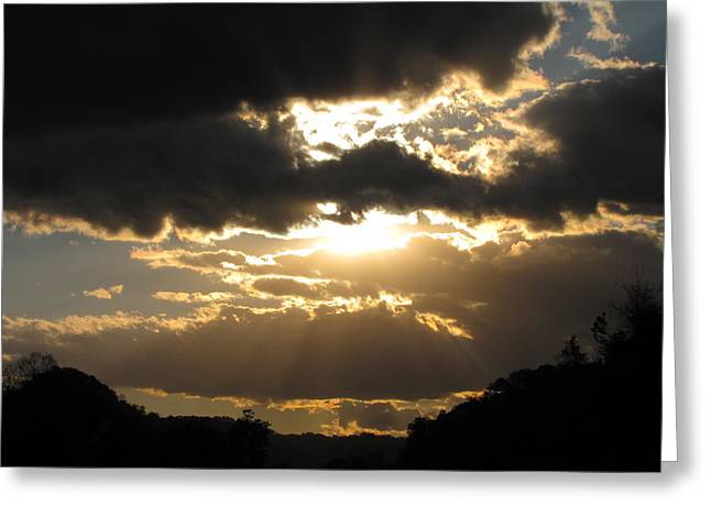 Shane Brumfield Greeting Cards - Light of the World Greeting Card by Shane Brumfield
